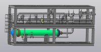 Теплообменник в рамной конструкции (SKID)